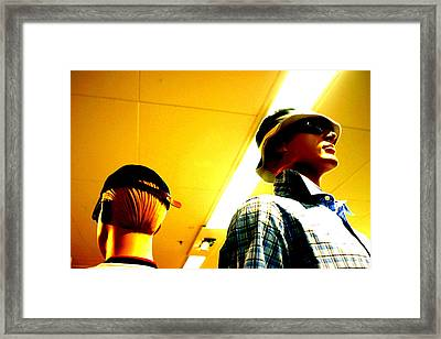 Hat N Cap Framed Print by Jez C Self