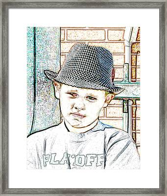 Hat Of A Hero Framed Print