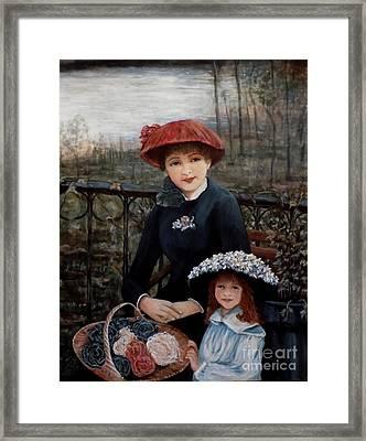 Hat Sense Framed Print by Judy Kirouac