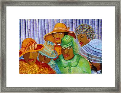 Hat-ti-tude Framed Print