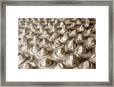 Hatscape Framed Print
