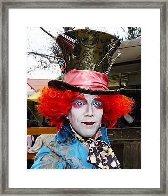 Hatter Framed Print by Clarence Alford