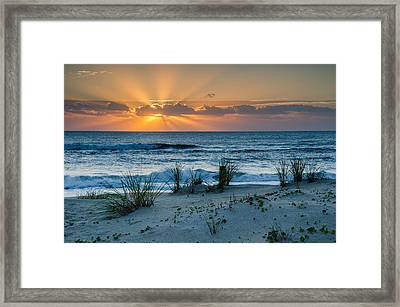 Hatteras Dawn Framed Print by Eric Albright