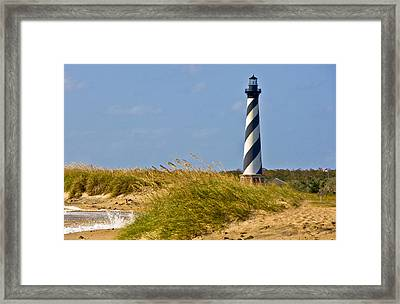 Hatteras Lighthouse Framed Print by Ches Black