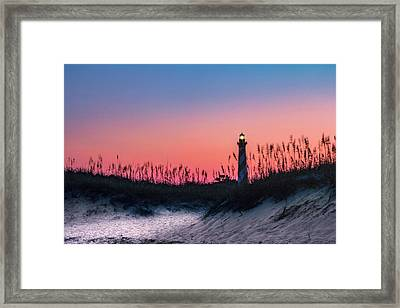 Hatteras Framed Print