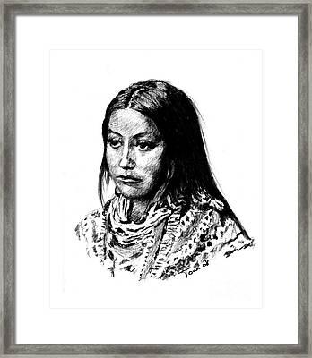 Hattie Tom Framed Print