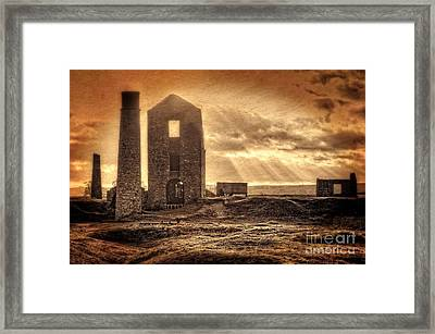 Haunted Britain - Magpie Mine Framed Print