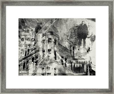 Haunted By The Past Framed Print by Susan Stone