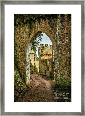 Haunted Castle Framed Print by Adrian Evans
