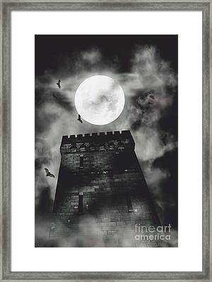 Haunted Dark Castle Framed Print by Jorgo Photography - Wall Art Gallery