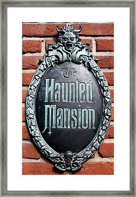 Haunted Framed Print by David Nicholls