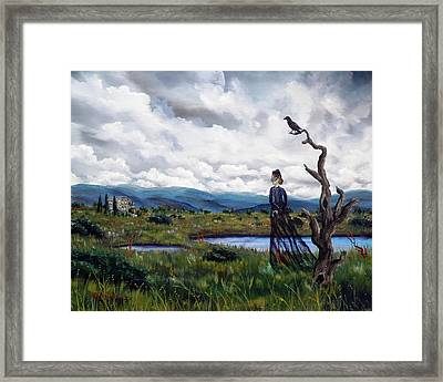 Haunted Desolation Framed Print by Laura Iverson
