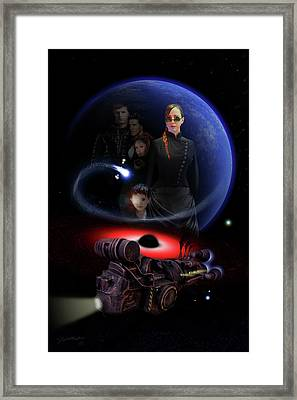 Haunted Empire Framed Print by Jeremy Martinson