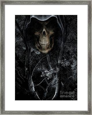 Haunted Forest Framed Print