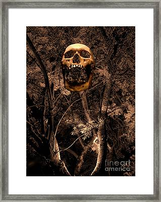 Haunted Forest II Framed Print