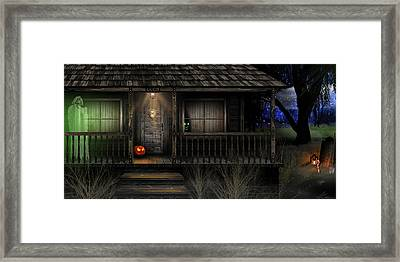 Haunted Halloween 2016 Framed Print by Anthony Citro