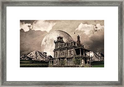 Haunted Haven Framed Print