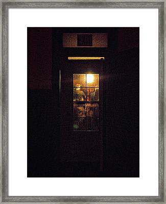 Haunted House 4 Framed Print by William Horden