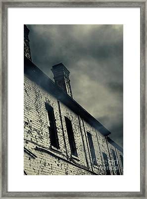 Haunted House Details Framed Print by Jorgo Photography - Wall Art Gallery