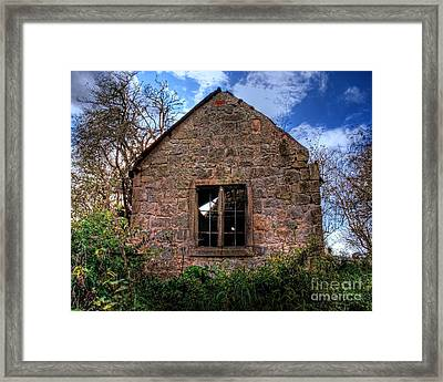 Haunted House Hdr Framed Print by Chris Smith