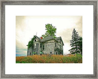 Haunted House Framed Print by Todd Klassy