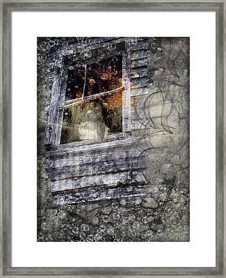 Haunted Impressions Framed Print by Nadine Berg