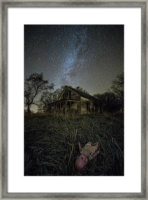 Haunted Memories Framed Print