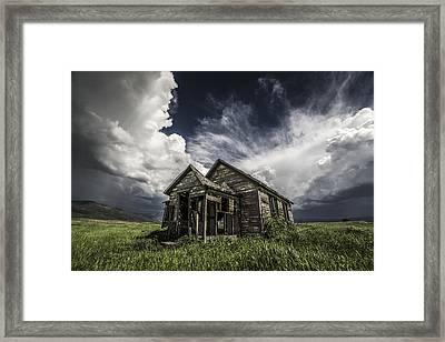 Haunted Framed Print