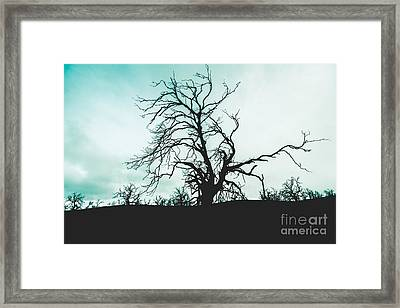 Haunted Wasteland Framed Print by Jorgo Photography - Wall Art Gallery