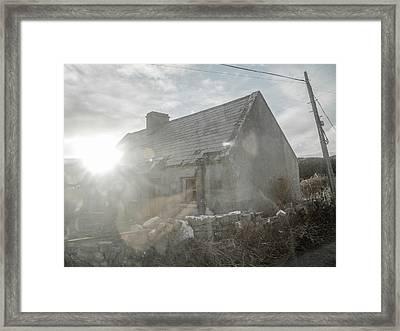 Haunting Enchantment  Framed Print