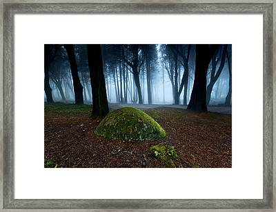 Framed Print featuring the photograph Haunting by Jorge Maia