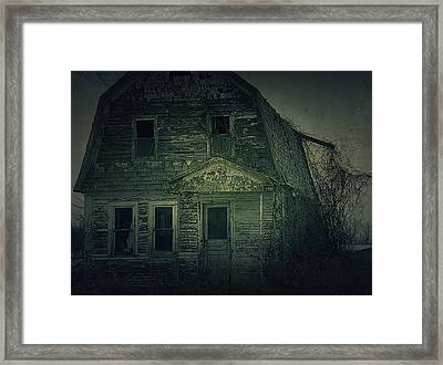 Haunting Framed Print by Scott Hovind