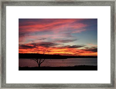 Haunting Sky Framed Print