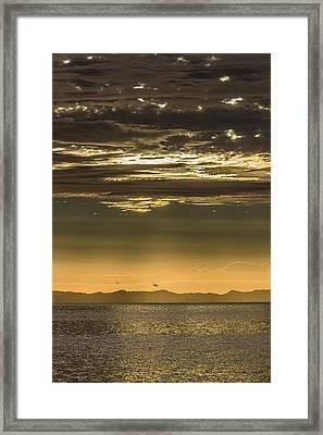 Hauraki Gulf At Sunrise Framed Print