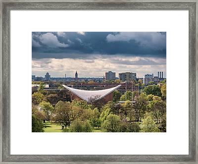 Haus Der Kulturen In Tiergarten Berlin Framed Print