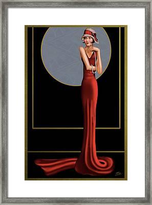Hauteur Elegance Framed Print by Troy Brown
