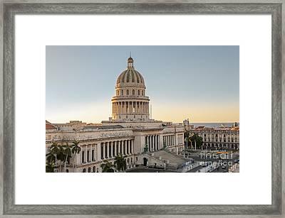 Havana Capitolio Framed Print