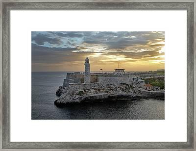 Havana Castillo 2 Framed Print