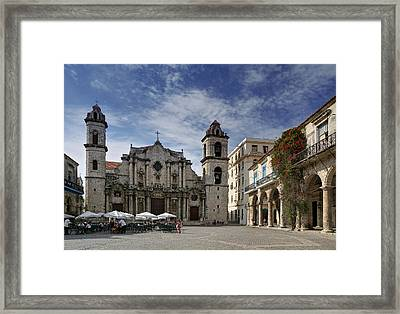 Havana Cathedral. Cuba Framed Print