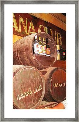 Havana Club Framed Print by Yury Bashkin