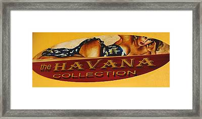 Havana Collection Framed Print