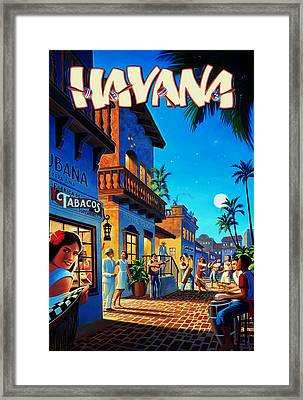 Havana Cuba Framed Print by Mark Rogan