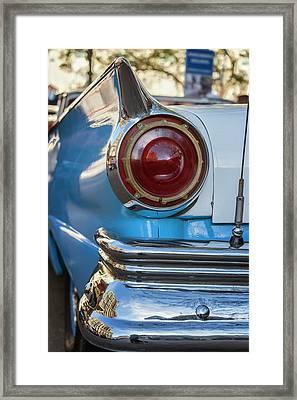 Framed Print featuring the photograph Havana Cuba Vintage Car Tail Light by Joan Carroll