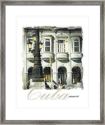Havana Facade Framed Print by Bob Salo