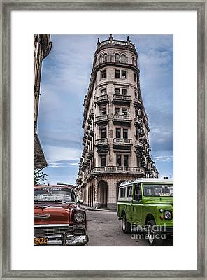 Havana Old Cars Framed Print