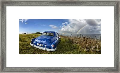 Havana Rainbow Framed Print
