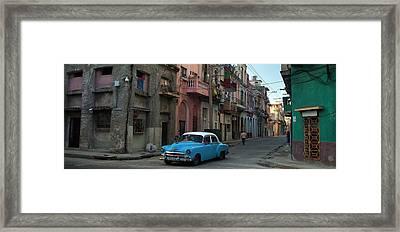 Havana Streets Framed Print
