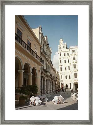 Havana Vieja Framed Print