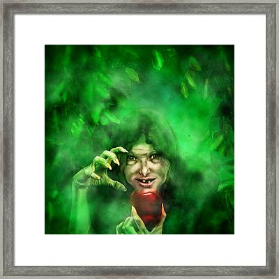 Have A Bite Dearie Framed Print