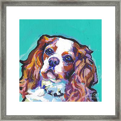 Have A Cav Framed Print by Lea S